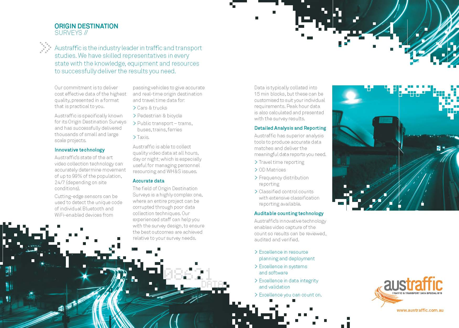 Origin Destination Surveys Brochure Download